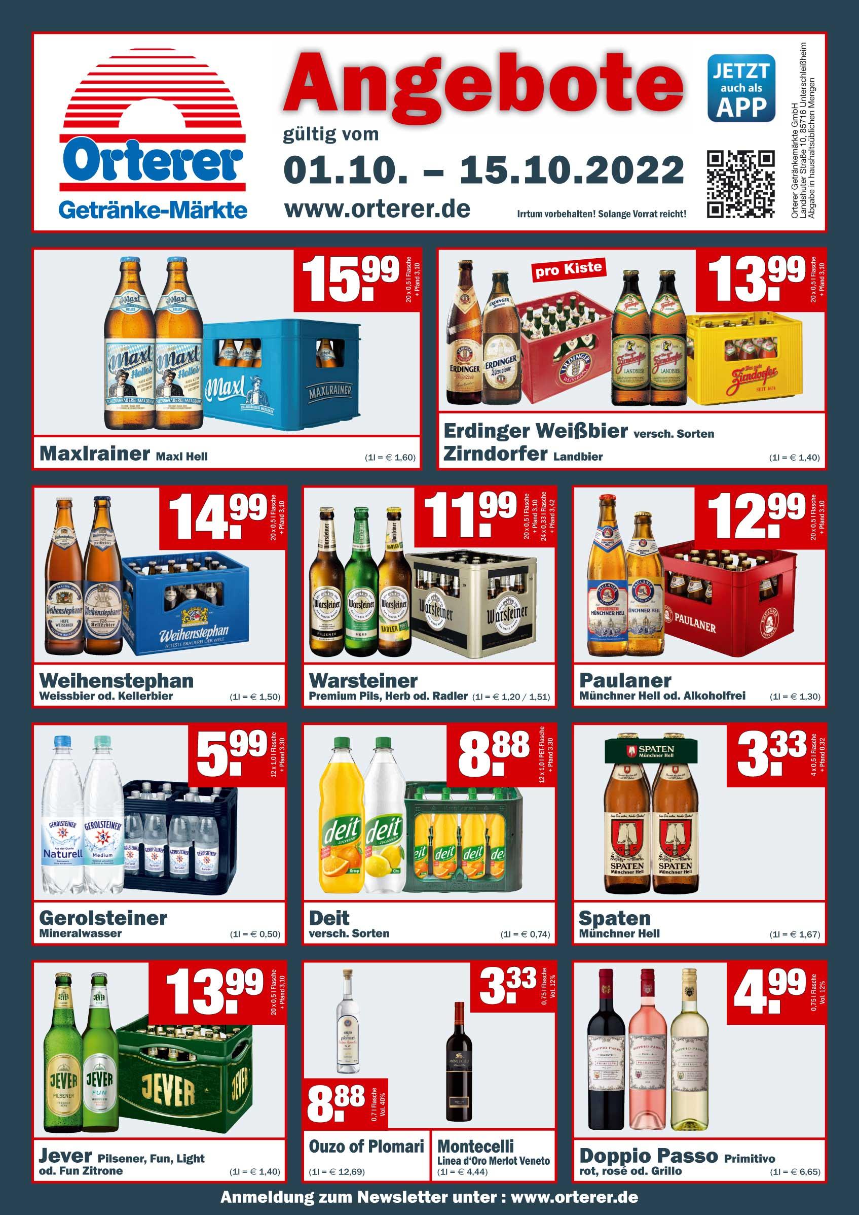 Orterer Getränkemärkte